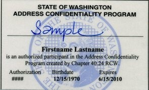 ACP Authorization Card Front
