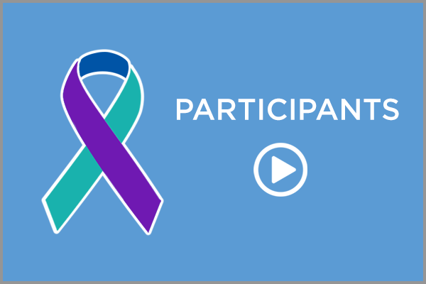 Participant ribbon with play icon
