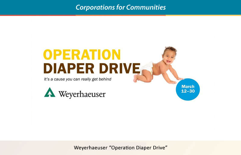 Weyerhaeuser - Operation Diaper Drive