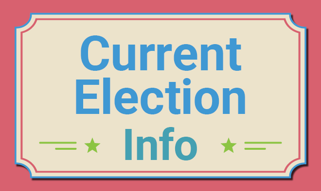 Current election information tile