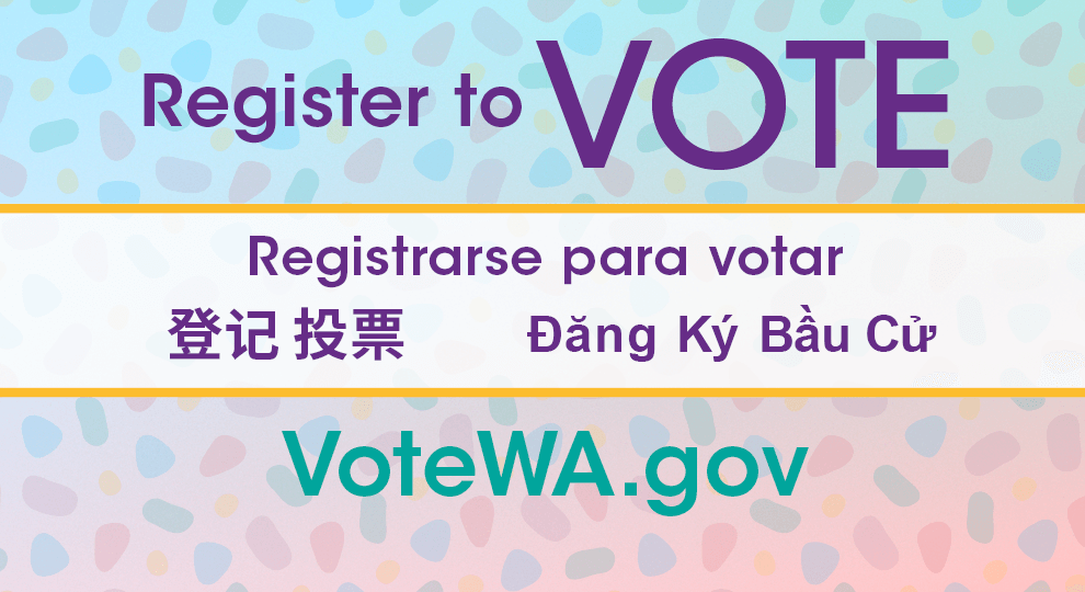 Multilingual Register to Vote and VoteWA.gov