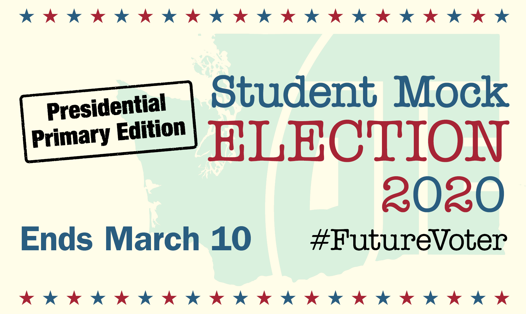 Student Mock Election for the 2020 Presidential Primary