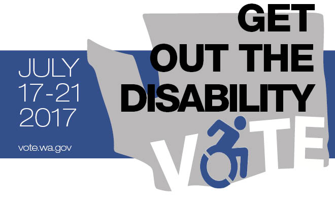 Disability get out the Vote WeeK