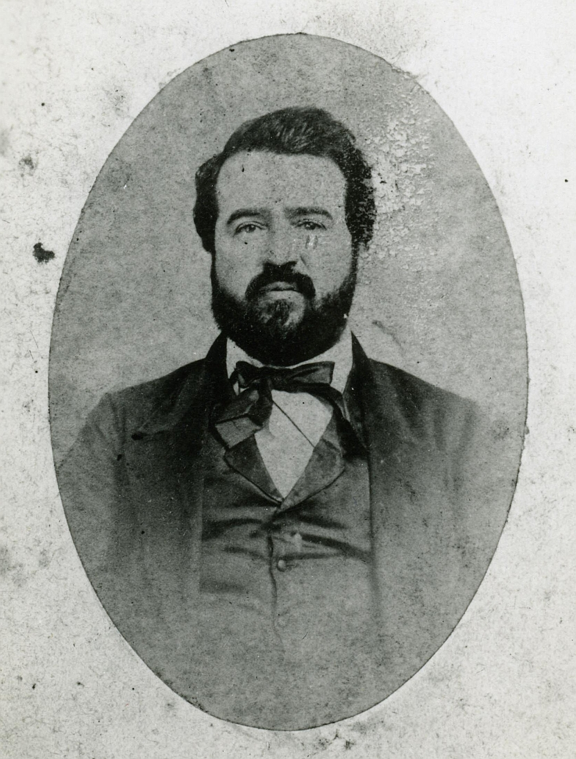photograph of Elwood Evans, Territorial Librarian of Washington 1877-1879
