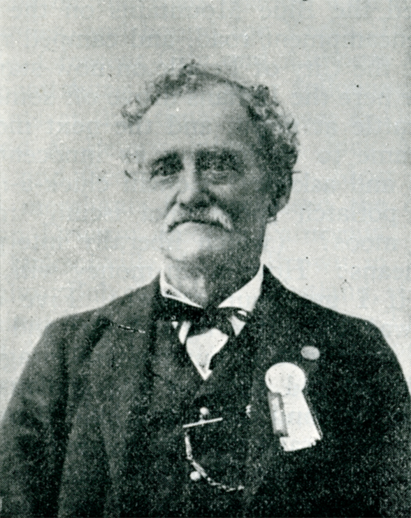 photograph of I.V. Mossman, Territorial Librarian of Washington 1870-1873