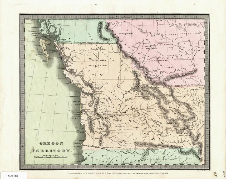 Rare Maps Collection Of The Washington State Library