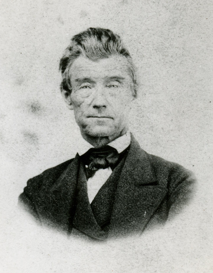 photograph of B.F. Yantis, Territorial Librarian of Washington 1873-1875