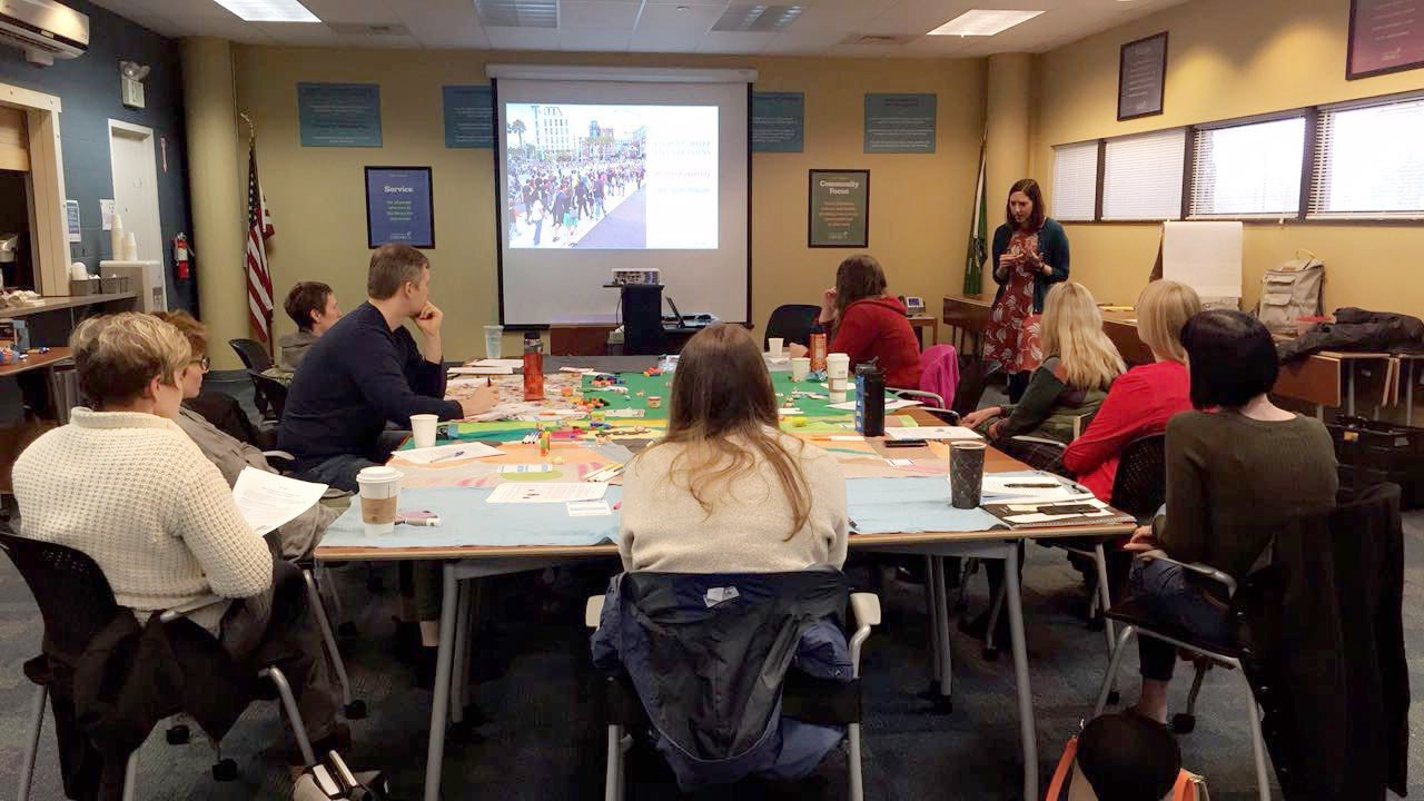 ACE's Social Emotional Learning, Trauma and Resiliency Workshop at Timberland Regional Library, March 14, 2017