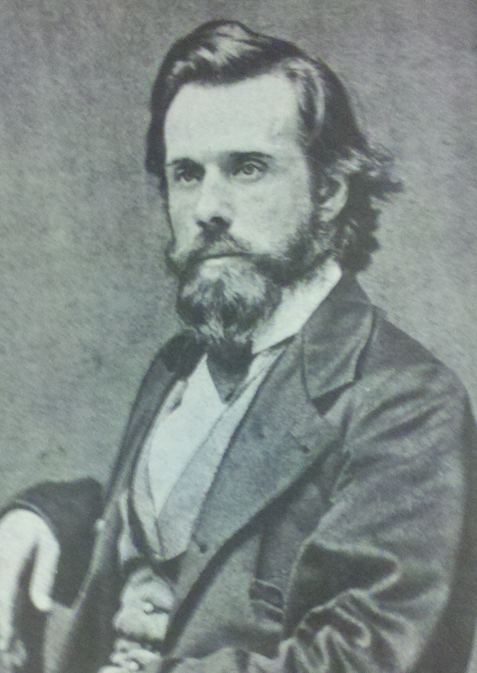 image of B.F. Kendall, first Territorial Librarian of Washington, 1853-1857