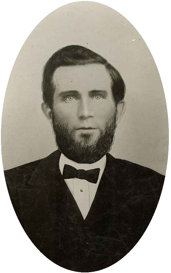 photograph of Sylvester Mann, Territorial Librarian of Washington 1870