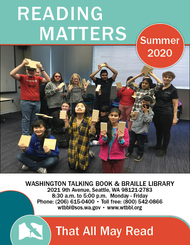 reading matters winter 2020