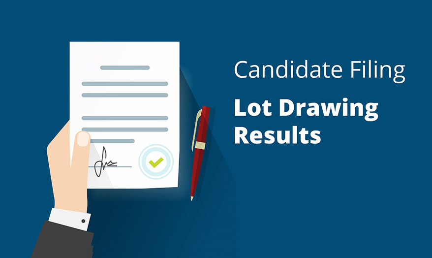 candidate lot drawing