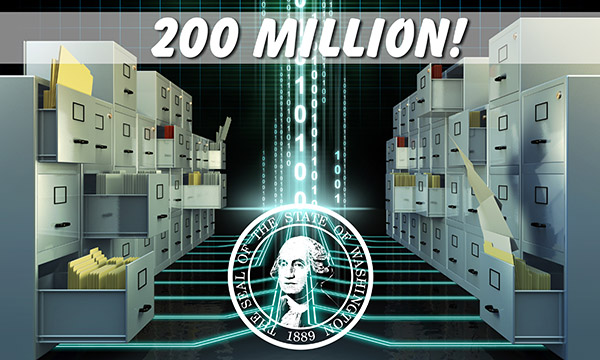 Digital Archives with 200 million