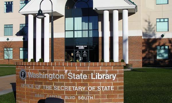 Washington State Library building