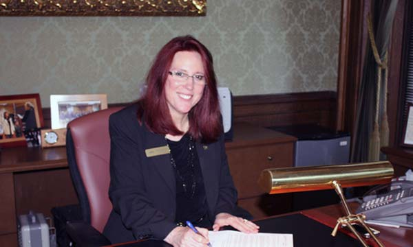 Secretary Wyman signing certifying I1351 for the ballot