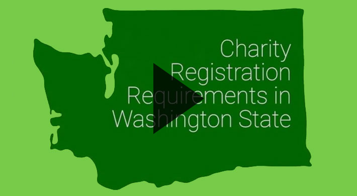 An informational video for those who solicit charitable contributions from Washingtonians
