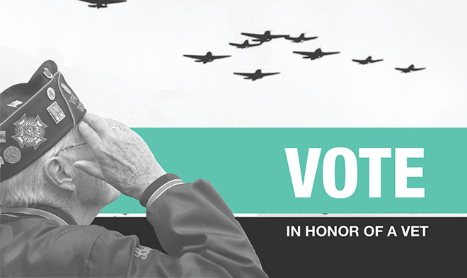 Vote in Honor of a Vet