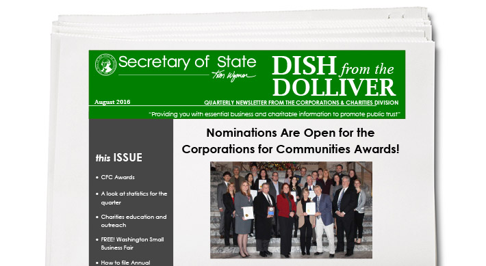 Corporations and Charities Division Newsletter