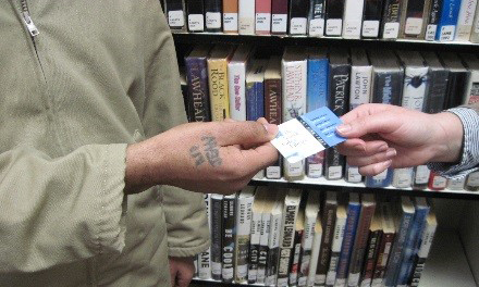 Inmate with Seattle Public Library Card