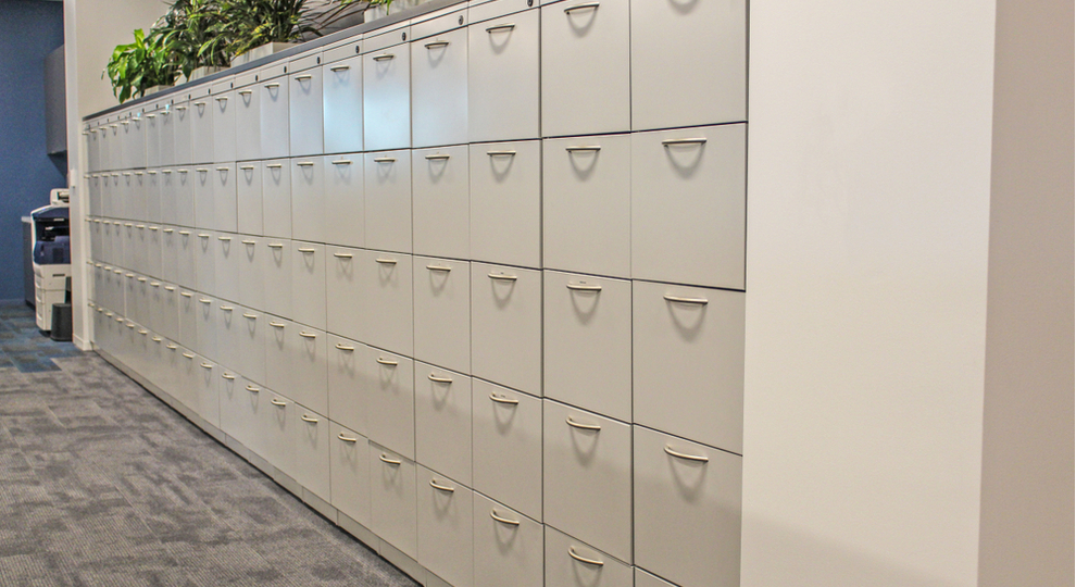 Clean and tidy filing system