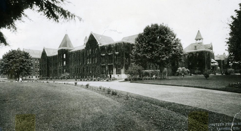 Black and White image of Western State Hospital