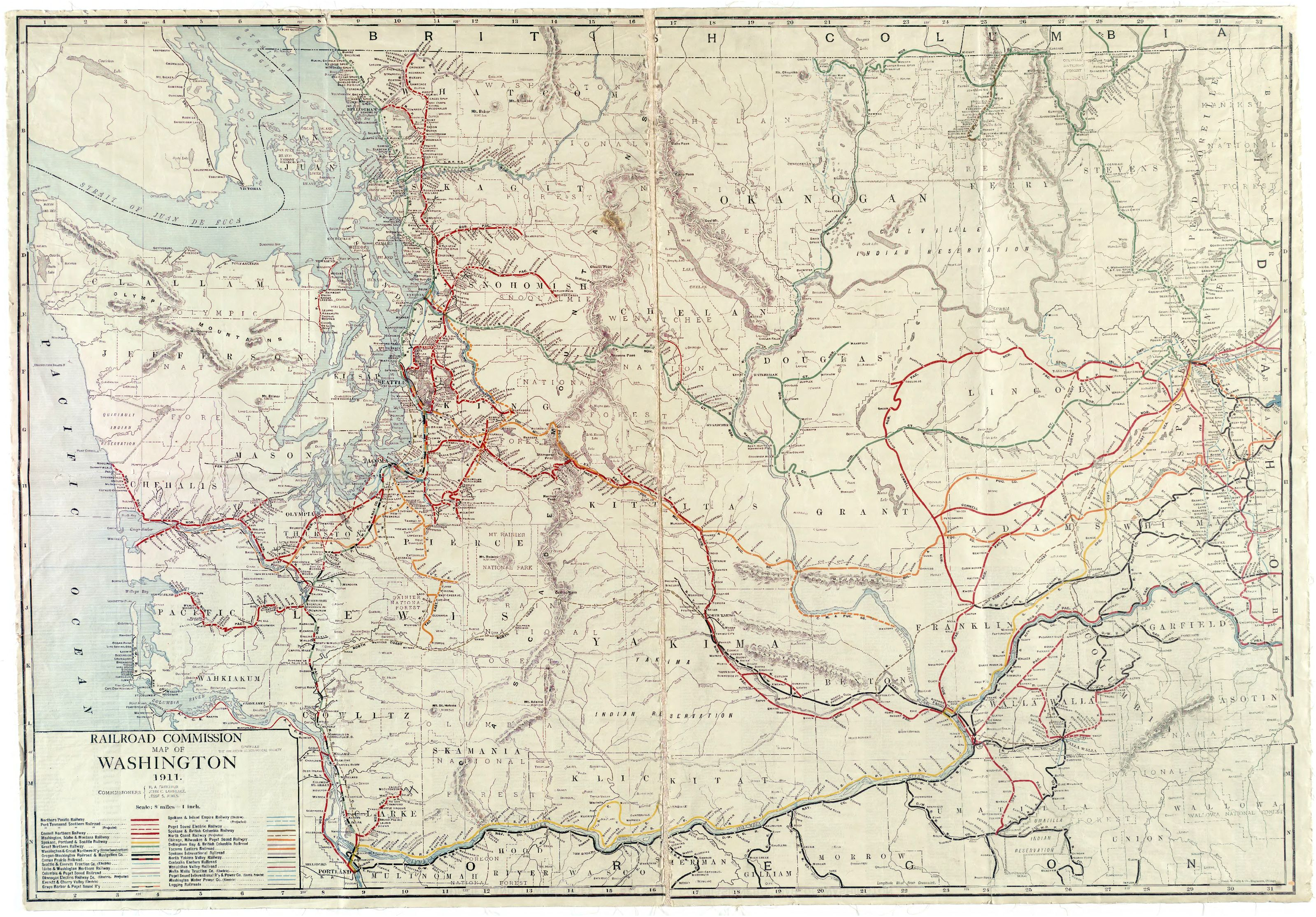 washington state railroad map bnhspinecom