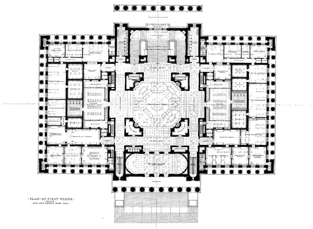 Washington history legislative building legacy for Building floor plans