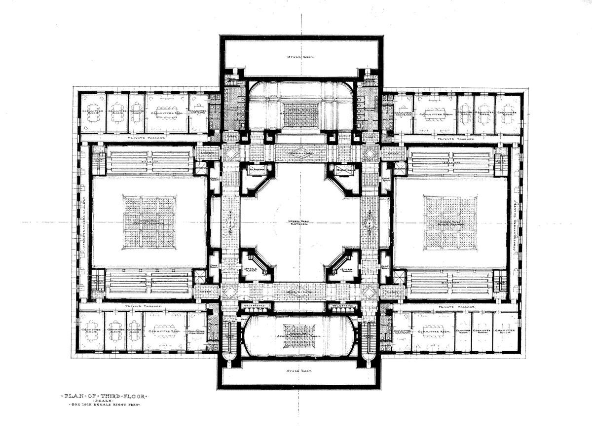 Us Supreme Court Building Floor Plan
