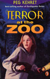 An image of the book cover, Terror at the Zoo.